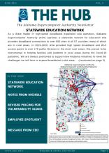 Screenshot of The Hub Volume 5 Newsletter