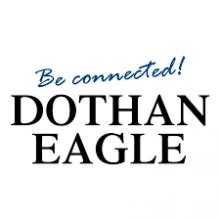 Thumbnail screenshot of Dothan Eagle logo from Dothan Eagle website article